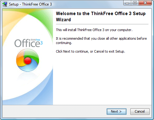 ThinkFree Office 3 logo